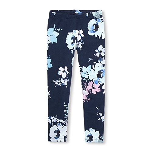 The Children's Place Big Girls' Printed Legging, Tidal, M (7/8)