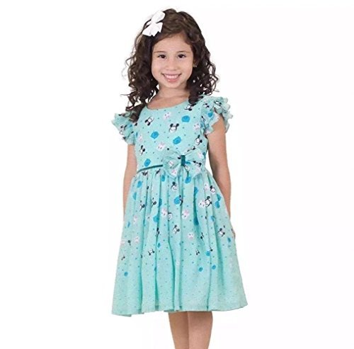 Disney Tsum Tsum Girls Chiffon Dress (4T)