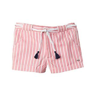 Tommy Hilfiger Girls Striped Short, 14, Pink