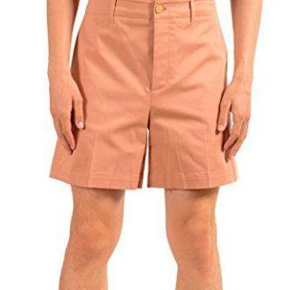 Gucci Men's Beige Stretch Casual Shorts US 32 IT 48