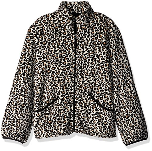 The Children's Place Big Girls' Fleece Jacket, Tumbleweed, M (7/8)