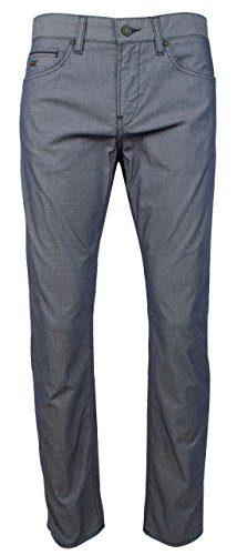 Hugo Boss Men's C-Delaware Slim Fit Five-Pocket Stretch Pants Jean Style