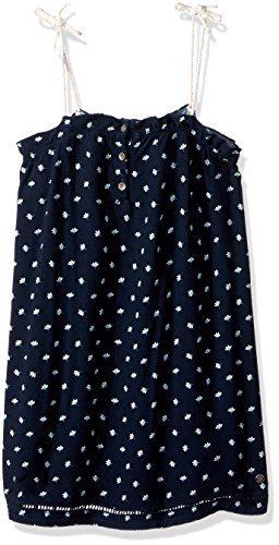 Roxy Little Girls' Soul Searching Tank Dress, Dress Blue Flower Twist, 2