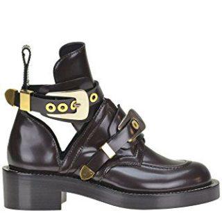 Balenciaga Women's Black Ankle Boots