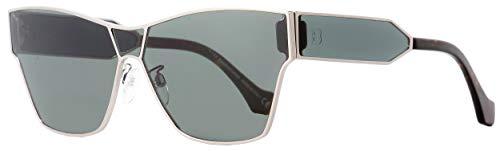 Sunglasses Balenciaga shiny light ruthenium/smoke mirror