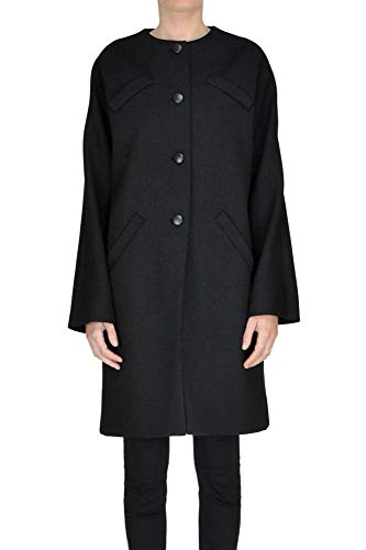 af982d3affc6 Balenciaga Women s Black Wool Coat Clout Wear Fashion for Womens ...