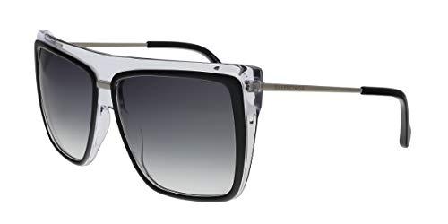 Balenciaga Black Square Sunglasses for Womens