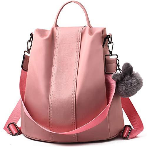 Charmore Women Backpack Purse Waterproof Nylon Schoolbags