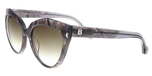 Sunglasses Balenciaga grey/other / gradient green