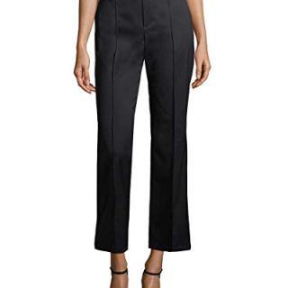 Balenciaga Womens Solid Buttoned Trouser, 38