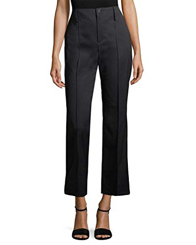 Balenciaga Womens Solid Buttoned Trouser, 38