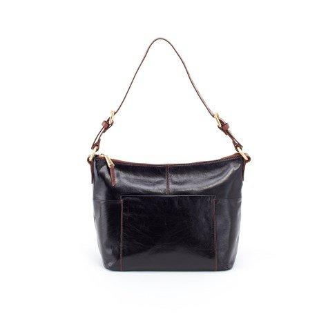 Hobo Women's Charlie Vintage Leather Shoulder Bag (Black)