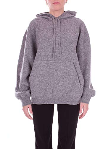 126f0a8cf00 Balenciaga Women s Grey Wool Sweatshirt Clout Wear Fashion for ...