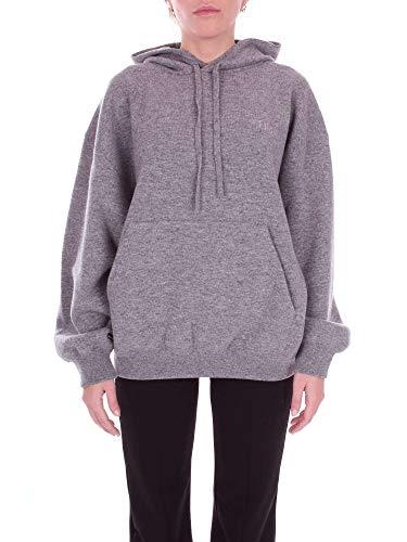 Balenciaga Women's Grey Wool Sweatshirt