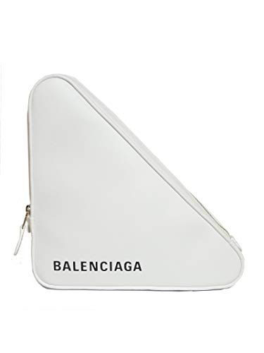 Balenciaga Women's White Leather Clutch