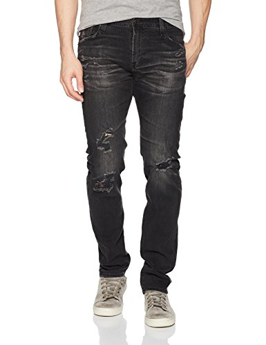 AG Adriano Goldschmied Men's Tellis Modern Slim Fit Lbk Denim, Years Gravel, 30