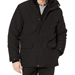 Ben Sherman Men's Vestee Outerwear Jacket, Classic Black, XL
