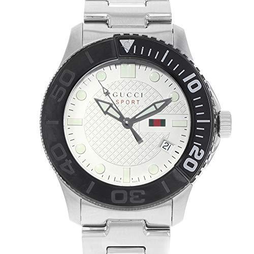 Gucci G-Sport 126 XL Stainless Steel Beige Dial Quartz Men's Watch