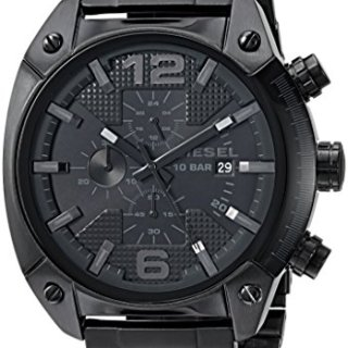 Diesel Men's DZ4223 Advanced Black Watch