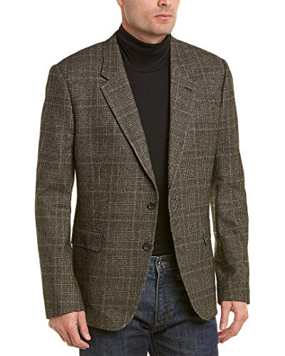 Billy Reid Mens Walton Wool-Blend Sportcoat, 44R, Grey