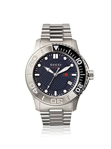 Men's G Timeless Stainless Steel Navy Blue Dial