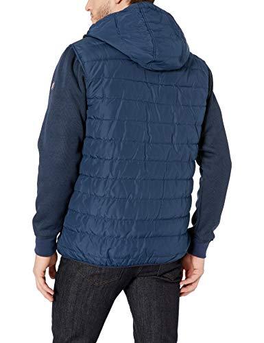 Ben Sherman Men's Bubble Jacket, Simple Sleeves Navy, L