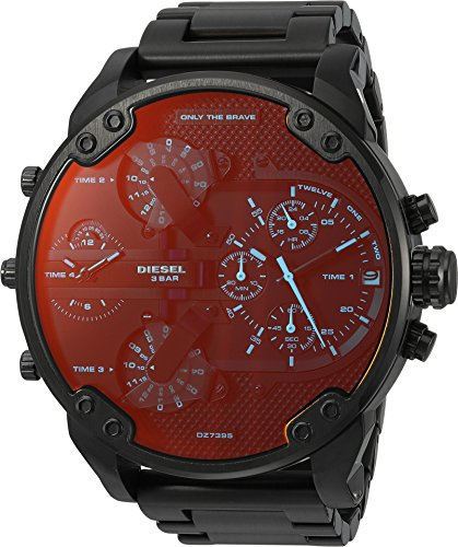 Diesel Men's DZ7395 Mr. Daddy 2.0 Black IP Watch
