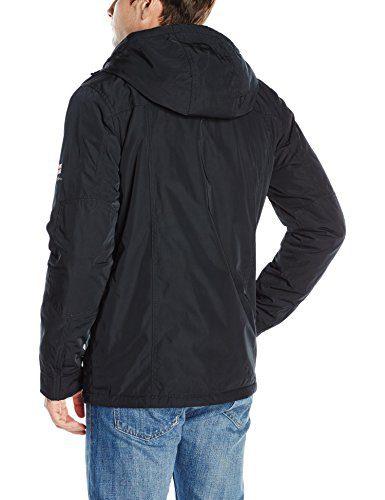 Ben Sherman Men's Midweight Outerwear Jacket, Black, M
