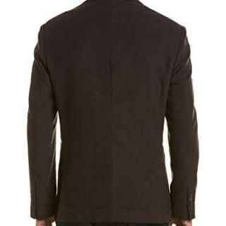 Billy Reid Mens Rustin Jacket, 44R, Black