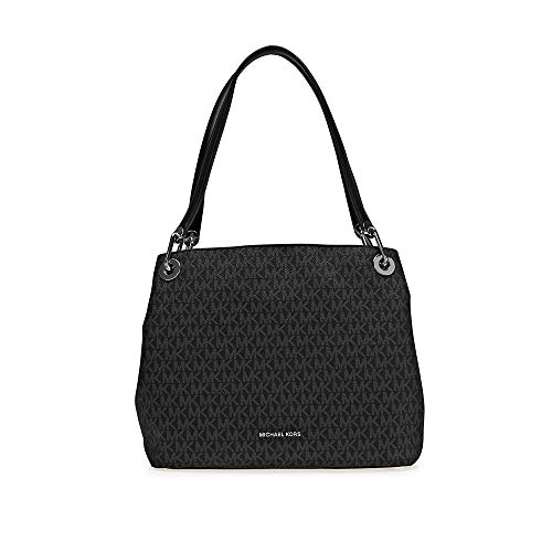 MICHAEL Michael Kors Large Shoulder Tote - Black