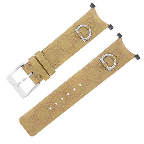 Gucci YFA50025 U-Play Gold Leather Bracelet & Bezel Watch Repair Kit