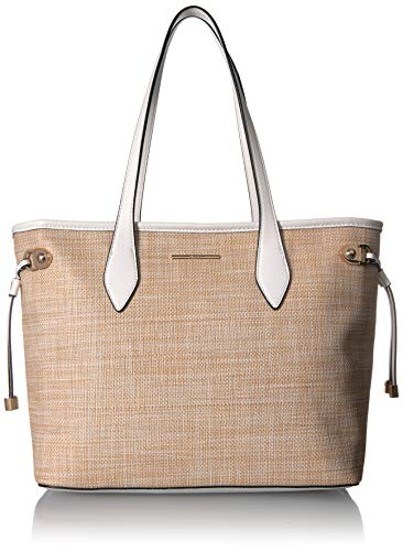 Aldo GIOPANNI, Natural/White Combo with Light Gold Hardware