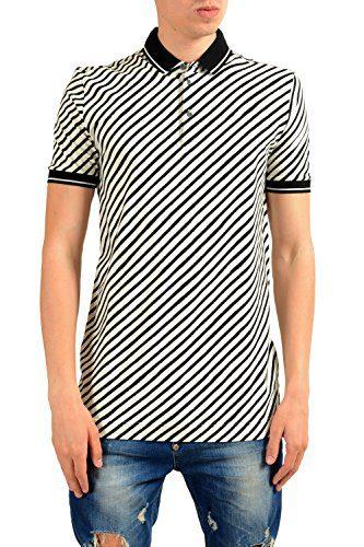 Dolce & Gabbana Men's Striped Short Sleeve Polo Shirt