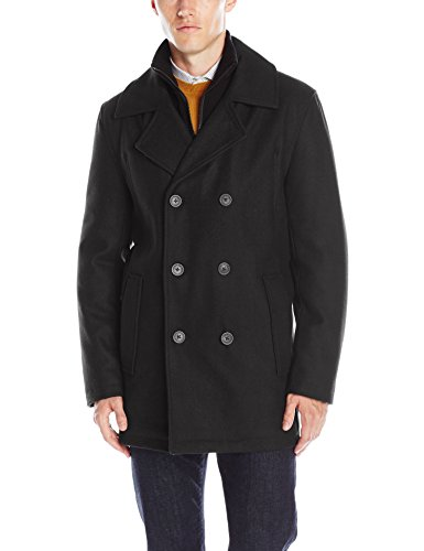 Marc New York by Andrew Marc Men's Cheshire Pressed Wool Peacoat