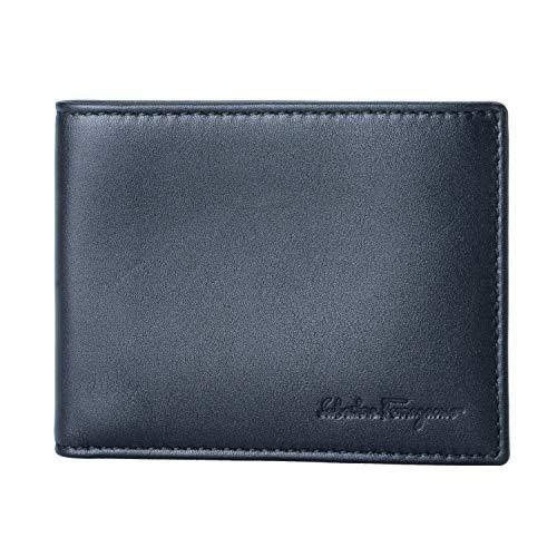 Salvatore Ferragamo 100% Leather Black Women's Wallet