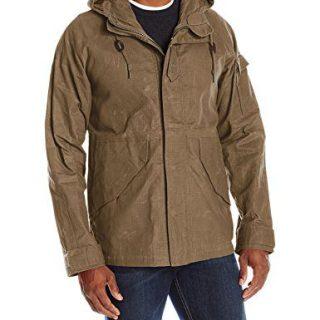 Alpha Industries Men's Shell Jacket, Barnstormer Brown, XX-Large