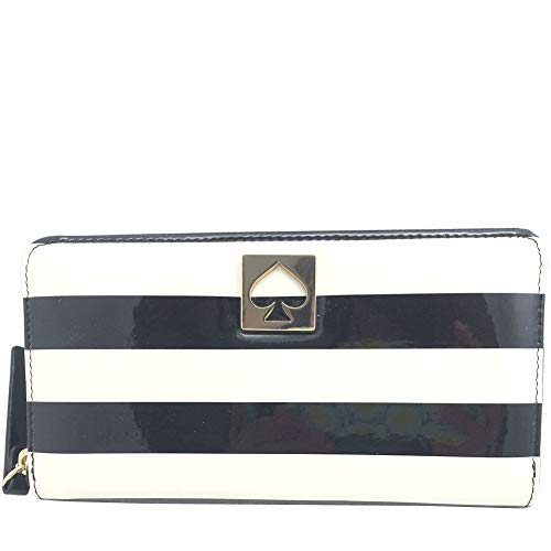 Kate Spade York Street Neda Clutch Wallet Stripes