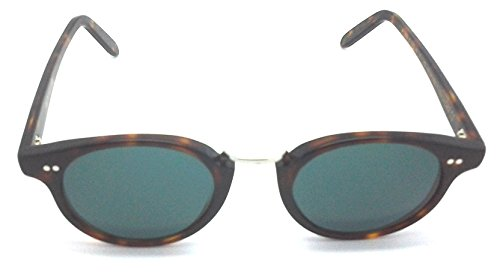 Cutler and Gross Tortoise Round Sunglasses