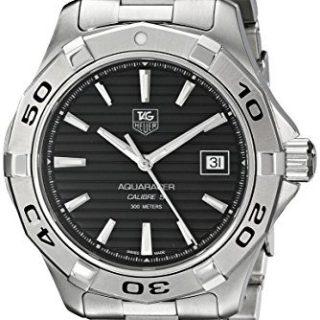 TAG Heuer Men's Aquaracer Calibre 5 Automatic Black Dial Watch