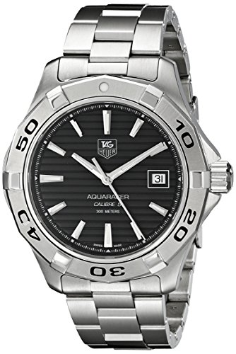 TAG Heuer Men's Aquaracer Calibre 5 Automatic Black Dial Watch