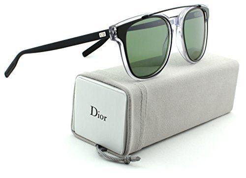 Dior Homme Black Tie Khaki Crystal Black Frame /Green Lens