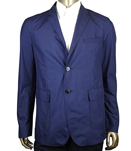 Gucci Light Weight Navy Blue Polyester Techno Jacket