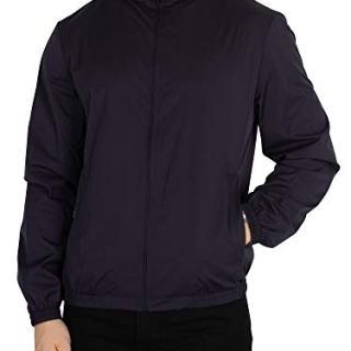 Aquascutum Men's Tyne Reversible Jacket, Blue, X-Large