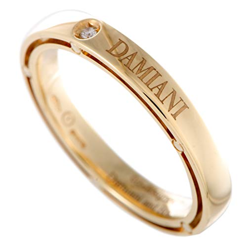 Damiani D.Side Brad Pitt 18K Yellow Gold 1 Diamond Band Ring