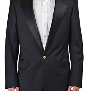 "Gianni Versace ""Tailor Made"" Men's Wool Tuxedo Sport Coat Blazer"