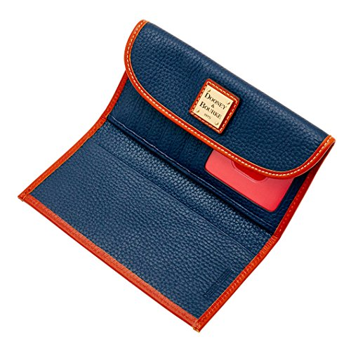 Dooney & Bourke Pebble Leather Continental Clutch Wallet