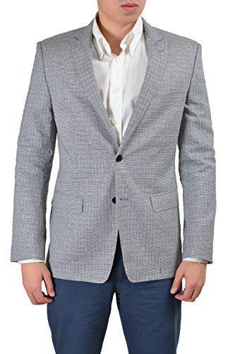 Versace Collection Men's Multi-Color Linen Sport Coat Blazer