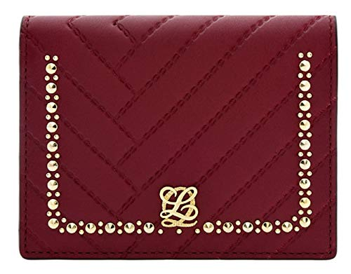 LOUIS QUATORZE Women's Quilted Bifold Leather Wallet