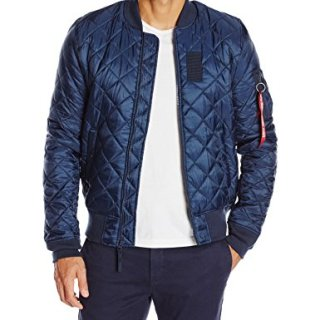 Alpha Industries Men's MA-1 Origami Flight Bomber Jacket