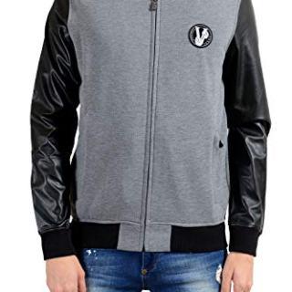 Versace Jeans Men's Two Tones Full Zip Track Jacket
